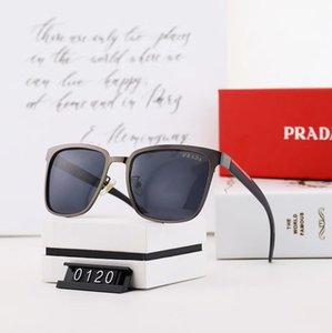 gafas de sol del diseñador de las mujeres sin montura rectángulo hombres gafas de sol en forma de corazón marco de metal de vidrio con cajas Oculos Masculino KLY150