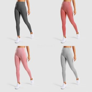 6 Colors Women Solid Slim Yoga Pants Female Running Gym Workout Fitness Stretch Pants High Waisted Capris Outfits#296