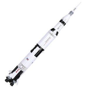 De nouvelles idées nouvelles série Apollo Saturn V MODÉLISME blocs arment compatibles 21309 37003 éducation classique Jouets pour les enfants 2020