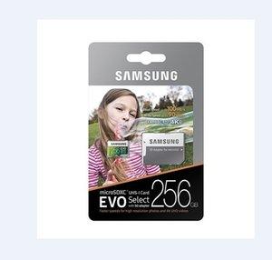 32기가바이트 / 64기가바이트 / 1백28기가바이트 / 256기가바이트 삼성 EVO 선택 플러스 마이크로 SD 카드 CLASS10 / 카메라 TF 카드 U3 / 스마트 폰 저장 카드 100메가바이트 / S