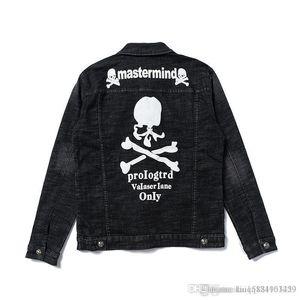 2020 New Cowboy Denim Jacket Fashion Design Outerwear Coat Autumn Skateboard Hip Hop Mens Designer Jackets Slim Fit Plus Size M-2XL