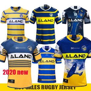 Gedenkausgabe Rugby Jersey Parramatta Eels Indigenous Jersey Hemd Australien NRL Rugby League Trikots New Parramatta Eels ANZAC 2020