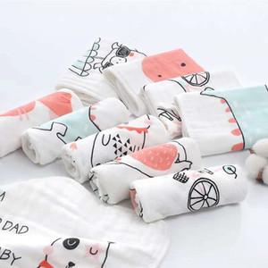 5-pack mir hua hohe Dichte reine Baumwolle Garn mit sechs Schichten bu yin hua Kinder mit hohen Dichte kleines Bib Handtuch Handtuch Lätzchen kerchief