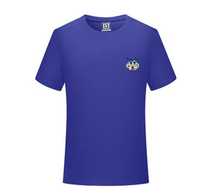 2020Wholesale New Luxury designer brand round neck T-shirt Summer New Men Women High Street Mens Polo shirt Casual T-shirt 8 Colors