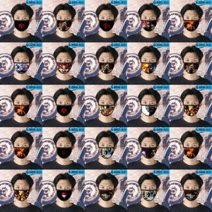 Naruto Oc Cubrebocas Designer Máscara Tapabocas reutilizável Face For Baby Face dos desenhos animados Máscara 01 Naruto Oc mywjqq khnZk