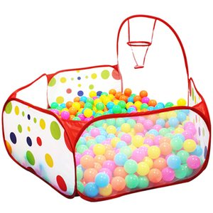 90cm 120cm 150cm Foldable Kids Safe Indoor Ball Pool Play Tent Safety Mesh Baby Playpen Baby Play Toy Tent CX200713