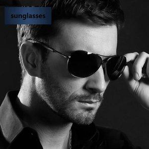 De Nouveau Soleil de verre Braaj Sol UV400 Mens Eyewear Veithdia Lunettes de soleil pour Gafas Lunettes Polarized Gunggle Oculos Hommes 3088 Turel