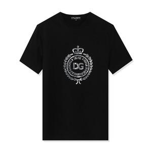 20SS lüks Erkek Tasarımcılar Tişörtlü Yüksek Kalite Erkekler Kadınlar Çiftler Casual Kısa Kollu Erkek Yuvarlak Yaka Tişörtler 5 Renk M-3XL