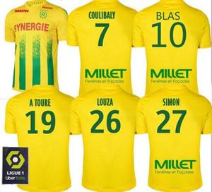 20 21 FC Nantes camisa de futebol Início maillot de Foot 2020 2021 SIMON Louza A TOURE BLAS COCO Coulibaly camisas de futebol de qualidade superior tailândia