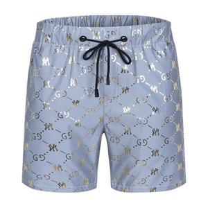 2020 Summer Fashion Shorts New designer Board short Quick Drying SwimWear Printing Board Beach Pants Men Mens Swim Shorts