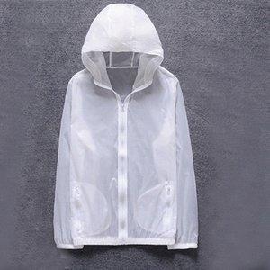 Litthing Homens New Verão Anti UV pele Jacket Outdoor Quick Dry Sun Protective revestimento encapuçado Ciclismo Viagem Windbreaker 2019 egh1 #