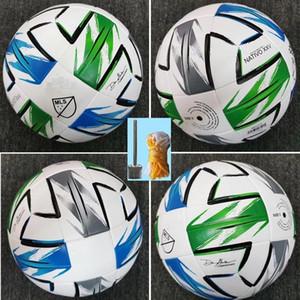 nueva Liga Americana bola de alta calidad pelota de fútbol MLS tamaño de 2.020 EE.UU. final Kiev 5 de la PU bolas gránulos antideslizantes de fútbol libre del envío