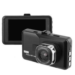 Многофункциональный 3,0-дюймовый HD ЖК-экран камеры видео карта Автомобильный диск Loop Recording Recorder Full HD 1080P G-сенсор Поддержка обнаружения движения
