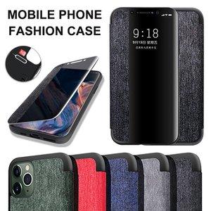 Smart Transparent Tuch Muster-Telefon-Kasten für iPhone 11 Pro Max Stoß- Voll Abdeckungen für Samsung A20 A50 S10 plus Huawei P30 mit OppBag