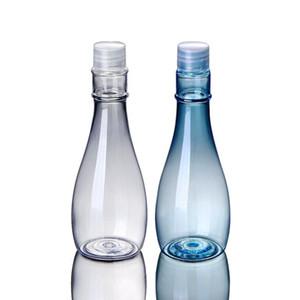 Garrafas de plástico recipientes cosméticos 150ml Loção Toner essência frasco transparente Embalagem Garrafas Maquiagem armazenamento Jars DHB618