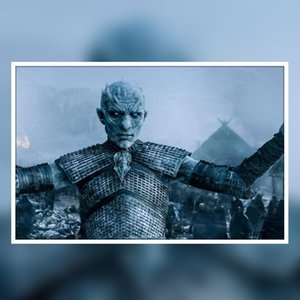 Game of Thrones Noite King Pôsteres Prints A Song of Ice and Fire Wall Art Canvas Pintura criativa Movie Poster Pictures Home Decoração