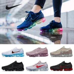 Air Vapor 2019 max 1.0 2.0 Running Shoes for Men Athletic Trainers Sports Shoe Women Black White Outdoor Sneakers Walking Trekking