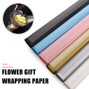 Multi-Purpose Bouquet Packaging Paper Rose DIY Festival 60*60cm Plastic 20pcs Pack Valentine'S Day Wedding Waterproof