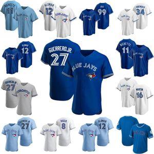 # 11 BO Bichette Toronto S-6XL Blue Jersey Vladimir Guerrero Jr. Cavan Biggio Hyun-Jin Ryu Yamaguchi Randal Grichuk Drury Jay Hernández Janese