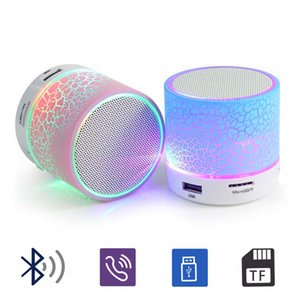LED سماعات بلوتوث ستيريو A9 مكبرات صوت مصغرة بلوتوث المحمولة السن الزرقاء مضخم الصوت مضخم صوت الموسيقى USB لاعب كمبيوتر محمول رئيس للهواتف