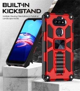 Per Motorola G8 Power Play G STYLUS E7 E6S 2020 ONE Heavy Phone Case Bumper Duty antiurto magnetica Funzione PLUS Kickstand ibrida