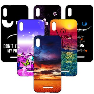 For BQ-5591 Jeans case soft tpu silicone colorful painting back cover case for BQ-5591 Jeans Phone fundas coque