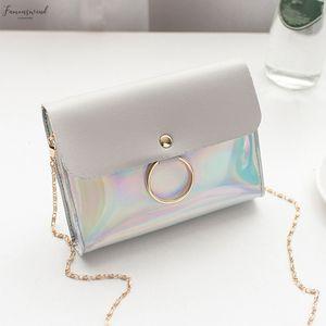 Fashion Flap Bag Women Small Messenger Bag Hasp Ladies Shoulder Handbag Crossbody Square Clutch Travel Wedding Purses Pu 3
