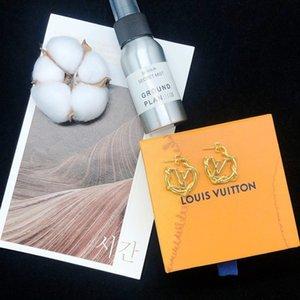 LOUISVUITTON дизайнерских серьги куб.см кисточка дизайнер серьга стержень способ серьга жемчуг дизайнер серьга обруч золото акрил B8