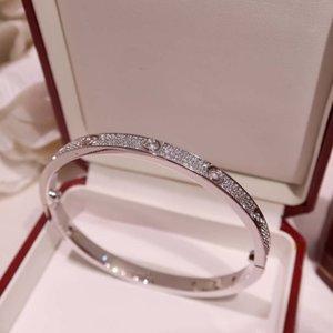 ankle bracelets luxury and gorgeous women's men's bracelet, starry LOVE bracelet gold plated 18K gold bracelet, silver belt box