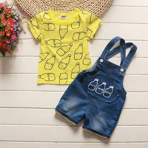 Été bébé garçon Vêtements Set Vêtements pour enfants de la catégorie Ensembles bébé Hauts + Shorts 2PCS Survêtement Vêtements pour enfants Vêtements pour garçons