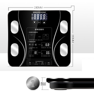 2020 Sıcak Banyo Vücut Yağ bmi Ölçeği Dijital İnsan Ağırlık Mi Kat lcd ekran Vücut İndeksi Elektronik Akıllı Tartı Scales