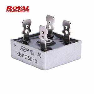 Barato Aire acondicionado Piezas 10PCS KBPC5010 50A 1000V diodo rectificador puente Aire acondicionado Piezas Electrodomésticos