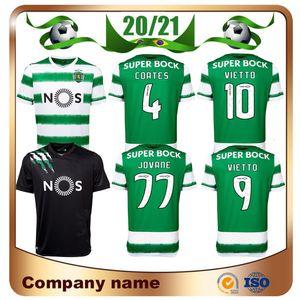 20/21 Sporting de Lisboa jerseys del fútbol 2020 camisas Inicio Vietto COATES ACUNA PHELLYPE fútbol uniforme jovane ROSIER BATTAGLIA Fútbol