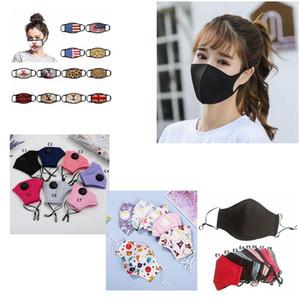 Ağız Baskılı Desen Kamuflaj Yeniden Yıkanabilir Yetişkin Çocuk Yüz IIA298 Maske Maskesi Multi-Style Karışık Maskeler PM2.5 Toz Korumalı Kirli Hava-Dayanıklı