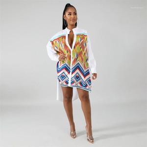 Loose Designer Leaf Shirts Woman Summer Elegant Irregular Long Sleeve Blouses Women Fashion Sexy Shirt Womens