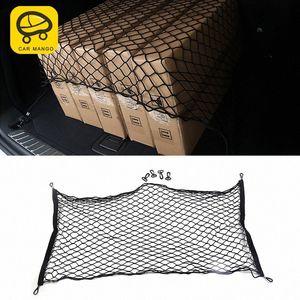 CarManGo Für 2018 X3 G01 X4 G02 Car Styling Trunk Rear Seat String Netz-Ineinander greifen-Speicher-Beutel-Taschen-Cage Automobil-Organizer Innen Orga eZxW #
