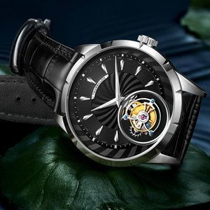 Top quality Original Tourbillon watch men hot brand luxury clock men skeleton Sapphire Mechanical relogio masculino 2020 new cKZ2#