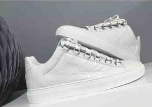 Atacado Top Marca Causal Shoes Arena sapatilhas Flats moda em couro genuíno Walking Shoes, Ao Ar Livre Trainers vestido de festa sapatos 38-46