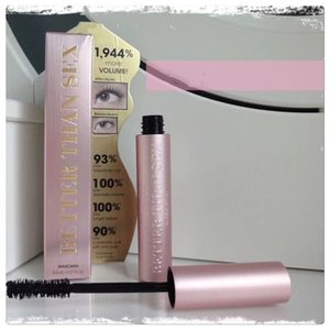 Top Quality ! New Face Cosmetic Better Than Sex Better Than Love Mascara Black Color long lasting More Volume 8ml Masacara