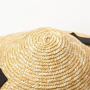 USPOP New Sun women conical summer wide brim wheat female lace-up straw beach hat Y200716