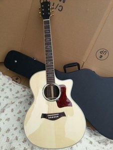 servicio al por mayor alta calidad de la guitarra acústica 814ce eléctrica acústica natural, proporcionan personalizada