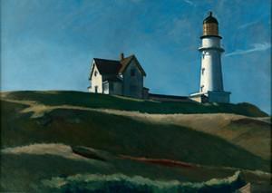Edward Hopper Leuchtturm Hill Wohnkultur Handbemalte HD-Druck-Ölgemälde auf Leinwand-Wand-Kunst-Leinwandbilder 200721