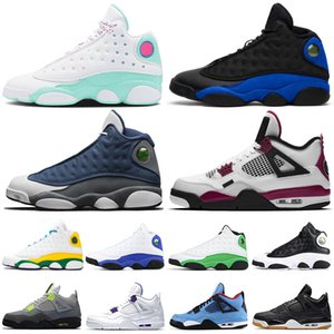 nike air jordan retro 13 13s 4 4s stock x Flint jumpman 13s hommes chaussures de basket-ball 13 REVERSE HE GOT GAME Aire de jeux femmes hommes formateurs Baskets de sport
