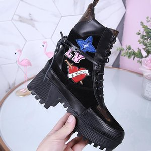 Women Boots Fashion Shoes Luxury Chaussures De Femme Martin Lady Casual Shoes For Party Luxury Footwears Laureate Platform Desert Boot Hot