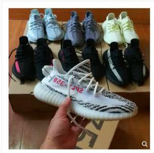 2019 Butter 350 V2 Sesame Men Sneakers Zebre Bred Blue Tint White Running Shoes Men Women Kanye West Designer Shoes