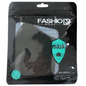 réutilisable masque anti-poussière Visage PM2.5 masque facial design 3D masque anti-poussière lavable réutilisable glace soie coton Masques Outils pour les enfants adultes