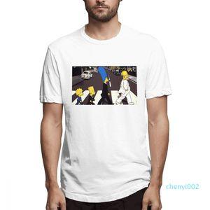 Cotton Os Simpsons desenhador de moda camisas camisas das mulheres dos homens de manga curta camisa Os Simpsons Impresso camisetas Causal c3507c02