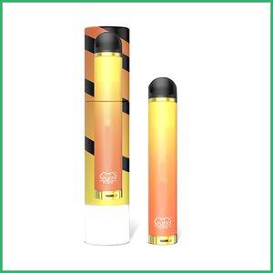 Plus récent arrivial SOUFFLE FLOW à usage unique vape stylo appareil Pod Starter Kit batterie 600mAh cartouche 4 ml meilleure qulity nouvel emballage