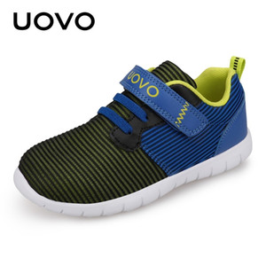 UOVO Newest Kids Shoes Breathable Spring Autumn Shoes for Boys Girls Light-weight Sole Children Flexible Shoes For Kids CX200724