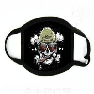 Pembe Kaplan Yüz Yeniden kullanılabilir Karikatür Binme Bisiklet Koruyucu Maske hairclippers2011 Running Cubrebocas Costo Ultraviyole Kanıtı Yıkanabilir yazdır Maske
